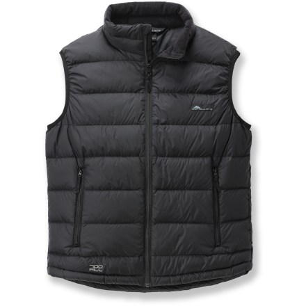 The Cordillera Aiguille down vest is an excellent choice for cold-weather adventures. - $78.73