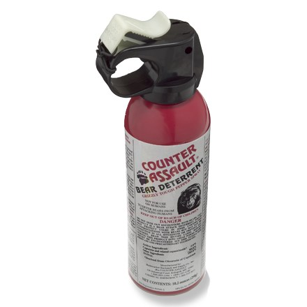Camp and Hike Counter Assault bear spray is designed to drive away bears in the event of an attack and this larger size ensures you'll have plenty for reserve. - $54.95