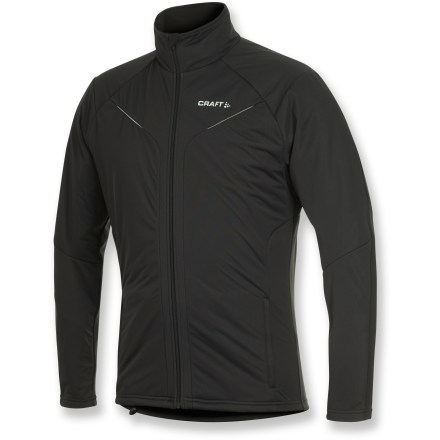 Ski Light and versatile, the Craft PXC Storm jacket offers a wide range of mobility and wind-blocking performance for comfort during active endeavors in the cool temperatures of fall and winter. - $69.83