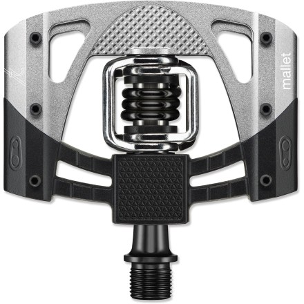 MTB Ready for the trails, the crankbrothers Mallet 2 bike pedals offer a wide platform, easy cleat engagement and adjustable pins for downhill or race use. - $95.00