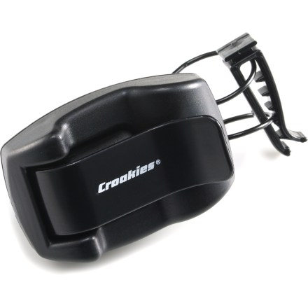 Entertainment This Croakies Shade Dock attaches to your car's sun visor or vent and securely holds all sizes of eyewear, keeping them within reach. - $6.00