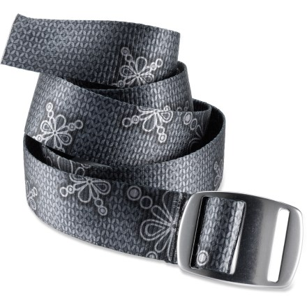 The colorful Croakies Splot Artisan belt adds attractive style to your everyday attire. Includes a metal artisan buckle. 1 size fits all; Croakies Splot Artisan belt can be trimmed for proper fit. - $28.00