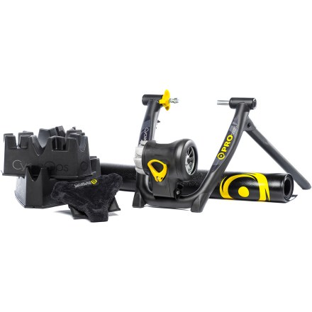 Fitness Lock your indoor training routine in place with the CycleOps Jet Fluid Pro Trainer Kit; you'll have everything you need for an effective workout that will keep you tuned up until the roads clear. - $500.00