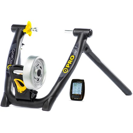 Fitness If mindless indoor spinning sounds like torture, the CycleOps Powerbeam Trainer with Virtual Training and Joule Computer will keep you hooked with its training options and data recording capabilities. - $802.93