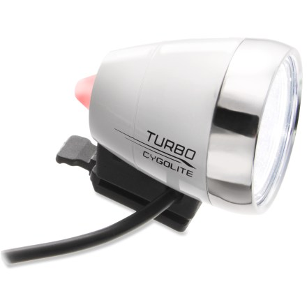 Fitness The straightforward, rechargeable CygoLite Turbo 800 bike light puts out a bright 800 lumens of light in a budget-friendly design for commuting and everyday riding. - $55.93