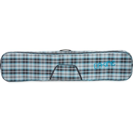 Snowboard The DAKINE Freestyle women's snowboard bag features light padding to shelter your ride from scratches and dings when transporting it. - $29.83