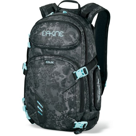 Snowboard The DAKINE Heli-Pro DLX 18L snow pack is a girl's best friend, offering an easy, comfortable way to haul your ride and gear to whatever peaks you're gaming to tackle. - $62.83