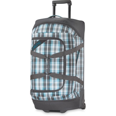 Ski This DAKINE Wheeled Duffle bag offers plenty of space and smooth-rolling performance for hassle-free transit. - $101.83