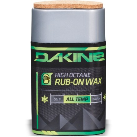 Snowboard The DAKINE High Octane Rub-On wax provides hot wax performance without the hassle and time committment. - $9.93