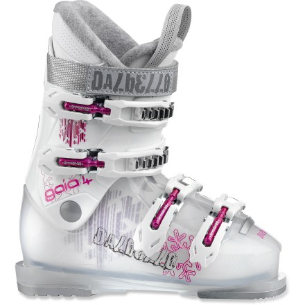 Ski These Dalbello Gaia 4 girls' ski boots offer your little shredder the comfort and performance she deserves. - $59.93