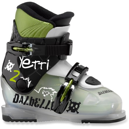 Ski The Dalbello Yetti 2 ski boots offer your little shredder the comfort and performance of adult boots in a small size. - $69.93