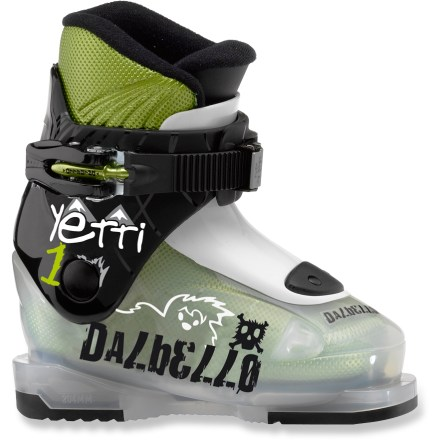 Ski The Dalbello Yetti 1 ski boots offer your little shredder the comfort needed to have a great time on the slopes. - $53.83