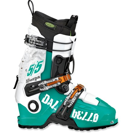 Ski The Dalbello Sherpa 5/5 randonee boots provide all the power needed to drive the widest skis, yet they are lightweight and allow great range of motion for long backcountry tours. - $239.93