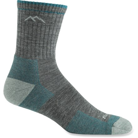 Camp and Hike Darn Tough Hiker Micro Crew women's socks provide miles of comfort and durability-trail-tested on the Vermont Long Trail, these socks provide a high level of cushioned performance. - $20.00