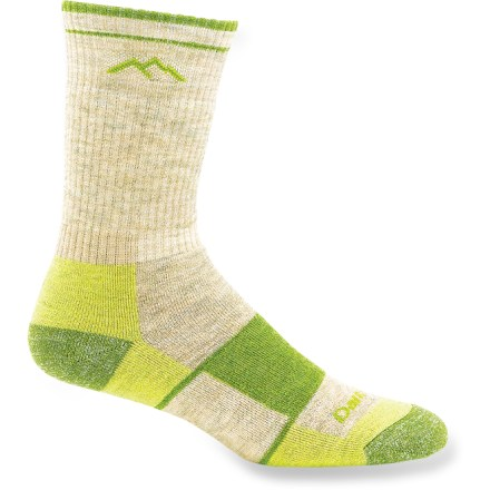 Camp and Hike The women's Darn Tough Full-Cushion boot socks provide miles of comfort and durability--they are crafted with high-quality raw materials and high-density knitting techniques. - $9.83