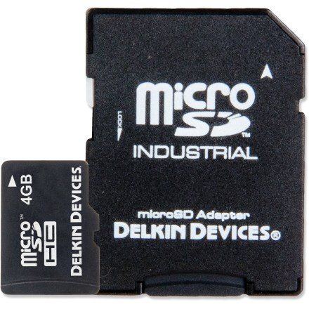 Camp and Hike The 4GB Delkin Devices Class 10 microSD card is the smallest removable storage available, optimized for use in compatible action cams, smartphones, digital cameras, GPS and other handheld devices. - $4.83