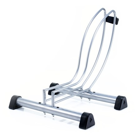 Fitness The Manet Single Bike floor stand from Delta keeps your storage space organized and your bike out of the way. - $8.73
