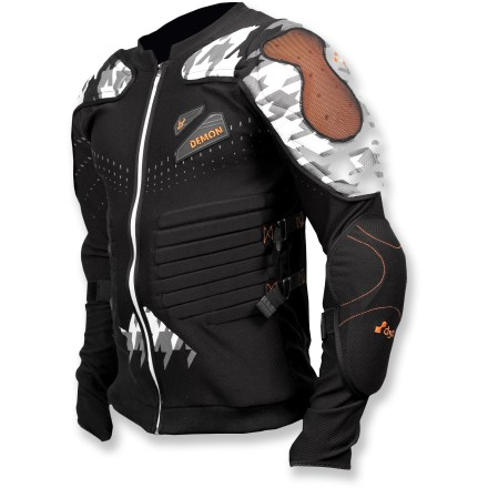 Snowboard The Flex Force X d3o protective top offers the ultimate in personalized upper body protection for extreme sports. - $89.93
