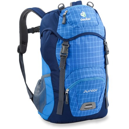 Camp and Hike Introduce your young hikers to the joys of carrying their own gear in comfort and style with the Deuter Junior pack. - $30.93