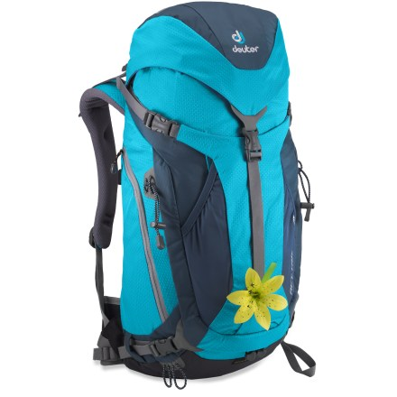 Camp and Hike The Deuter ACT Trail 28 SL pack for women offers great craftsmanship in a lightweight daypack. It's ideal for day hikes and technical routes. - $63.93