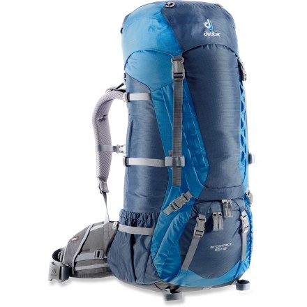 Camp and Hike This deluxe multiday backpack features a pivoting suspension, dedicated sleeping bag compartment, and plenty of external pockets to keep you and your gear comfortable and organized in the backcountry. - $214.93