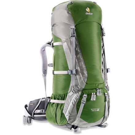 Camp and Hike The women's Deuter Aircontact 70 + 10 SL pack is a feature-rich gear hauler. Enjoy its quality, durability, capacity and comfort on your next multiday adventure in the great outdoors. - $289.00