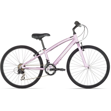 Fitness The performance hybrid design of the Diamondback Clarity 24 in. kids' bike provides a comfortable upright riding position and speedy efficiency for everyday road riding. - $309.00