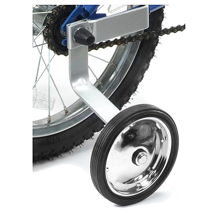 Fitness These training wheels fits 14 - 20-inch wheel size bicycles and have extra heavy-duty steel arms for durability. - $11.93