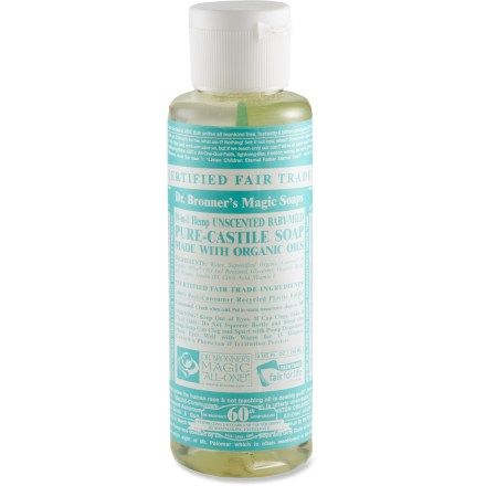 Camp and Hike Made of all-natural ingredients, Dr. Bronner's mild liquid soap is ideal for camping and travel. - $4.50
