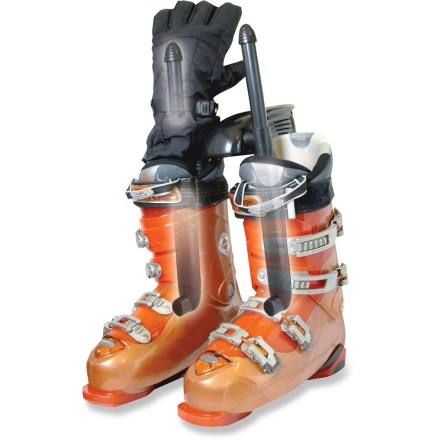 Ski The travel-friendly DryGuy Transporter(TM) boot dryer uses efficient air circulation to dry your boots and gloves. - $23.93