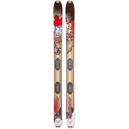Ski Get stoked for powder snow! The Dynafit Stoke randonee skis invite you to tour the backcountry and take a thrilling ride down untracked slopes on deep days. - $319.83