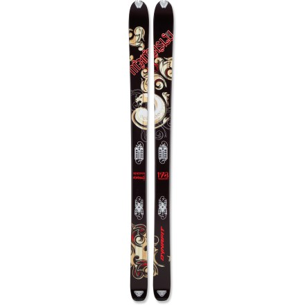 Ski Taking it's name from the worlds eighth highest peak, the Dynafit Manaslu randonee skis live for big-mountain adventures where powder snow is plentiful and steep lines abound. - $279.83