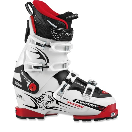 Ski Dynafit Titan TF-X randonee boots are your ticket to ski any type of terrain. From a long backcountry tour to a hard-charging day at the resort, the Titan boots are up to the task. - $299.83