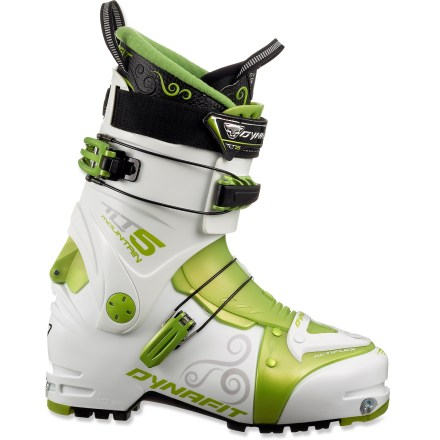 Ski The women's Dynafit TLT5 Mountain TF-X randonee boots set the standard for lightness and agility, and are the go-to boots for long-distance tours and ski mountaineering adventures. - $299.83