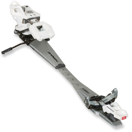 Ski Dynafit TLT Vertical FT randonee bindings offer a lightweight setup to aggressive freeride skiers who require a DIN 12 release setting for maximum lock-down during steep descents. - $219.93