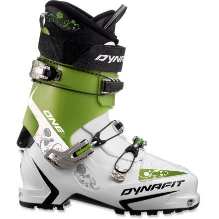 Ski The lightweight women's Dynafit One U-TF randonee boots balance a progressive flex with great walkability so you can ski those steep backcountry lines you've always dreamed about. - $219.93