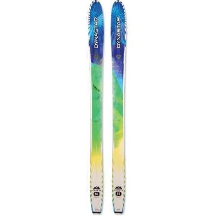 Ski Born in the Chamonix valley, the Dynastar Cham 97 skis are your passport to the best parts of the mountain. - $279.83