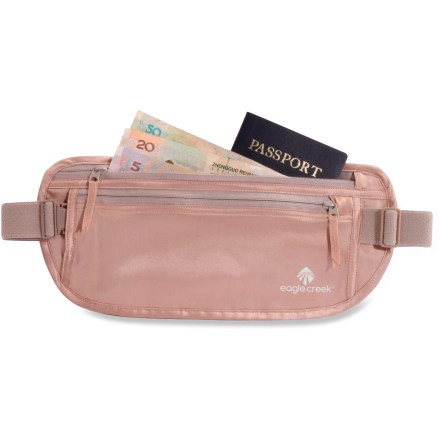 Entertainment Durable silk construction makes the Eagle Creek Silk Undercover money belt the most comfortable security piece you'll ever wear against your skin. - $30.95