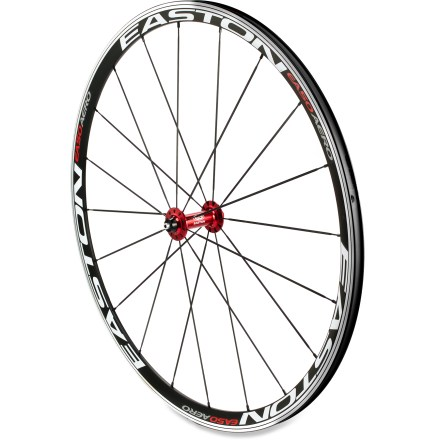 Fitness This hand-built Easton EA50 Aero front wheel supplies a good mix of aerodynamics, light weight and fortitude for all-around use, from training to road racing, loaded touring to cyclocross. - $78.83