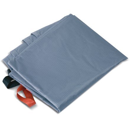 Camp and Hike Use this coated ripstop nylon footprint underneath your Easton Kilo 2P tent to protect its floor from wear and abrasion. Sized to fit so that it prevents pooling of water under tent during wet weather. Webbing stake-outs at tent corners provide easy attachment. - $27.93