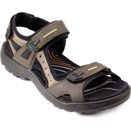 Entertainment Take to trails or cross concrete jungles in the ECCO Yucatan sport sandals, which offer support and comfort in a lightweight, flexible design that easily adjusts for a custom fit. - $64.83