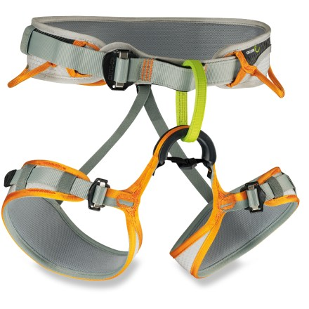 Climbing The Edelrid Jay climbing harness is a real all-arounder. Spend the summer cragging with friends and then take on ski mountaineering or ice climbing when the snow flies. - $29.93