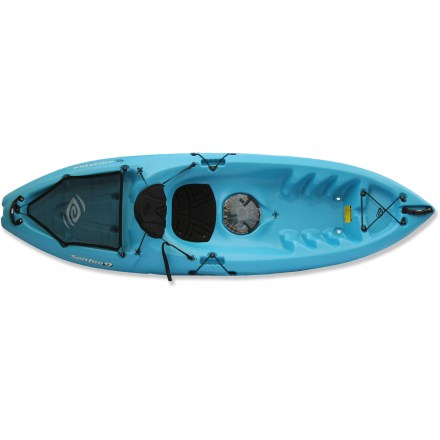 Kayak and Canoe With excellent stability and performance, this recreational sit-on-top kayak features a padded seat and adjustable seat back, providing great comfort for paddlers of any size. - $365.00