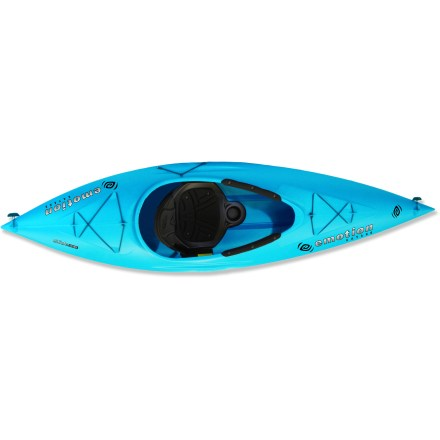 Kayak and Canoe The Emotion Kayaks Glide Sport kayak offers a blend of stability, control and comfort that will take you from first stroke to seasoned veteran. - $349.95