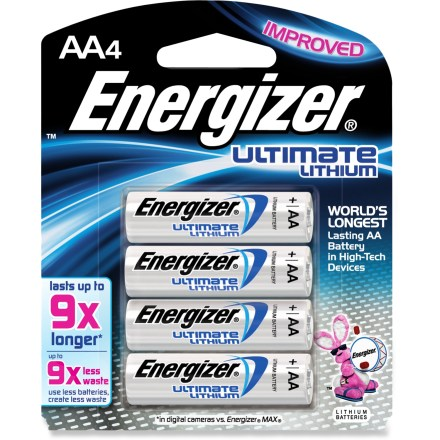 Camp and Hike Energizer(R) e2(R) lithium batteries deliver long-lasting power to keep up with today's high tech, power-hungry cameras and flash units. - $10.95