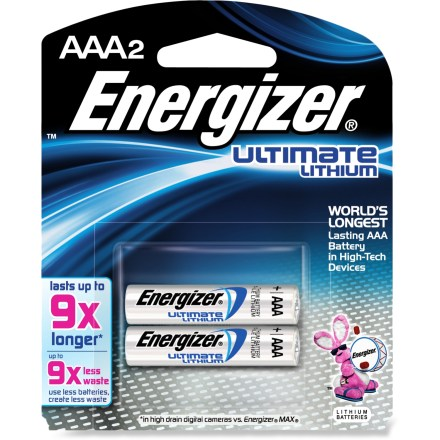 Camp and Hike This pack of 2 Energizer(R) e2(R) lithium batteries deliver long-lasting power to keep up with today's high-tech, power-hungry cameras and flash units. - $5.95