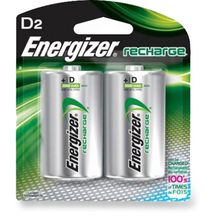 Camp and Hike These rechargeable Energizer NiMH batteries offer 35% greater energy output than NiCad batteries. - $11.95