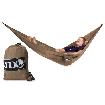 Camp and Hike The ENO ProNest hammock may be the smallest and lightest hammock from ENO to date, but it's heavy on comfort and ease of setup. - $31.93