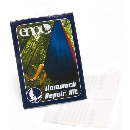 Camp and Hike The ENO Hammock repair kit makes it easy to patch holes and tears in your hammock. - $1.93