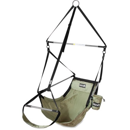 Camp and Hike Kick back in the comfortable ENO Lounger(TM) hanging chair and you'll wonder why you've been spending so much time on your feet. - $119.95